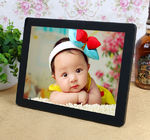 Decorative Desktop 12 Inch Resistance Touch Screen Digital Photo Frames 800*600