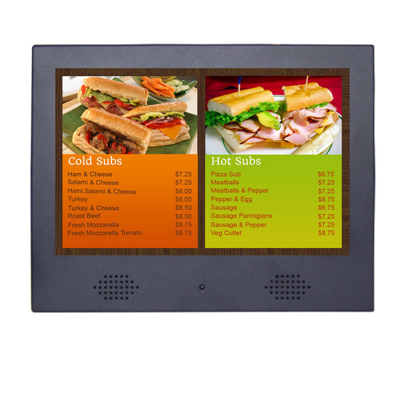 Shopping Mall Led Backlight Wall Mounted Digital Signage Players