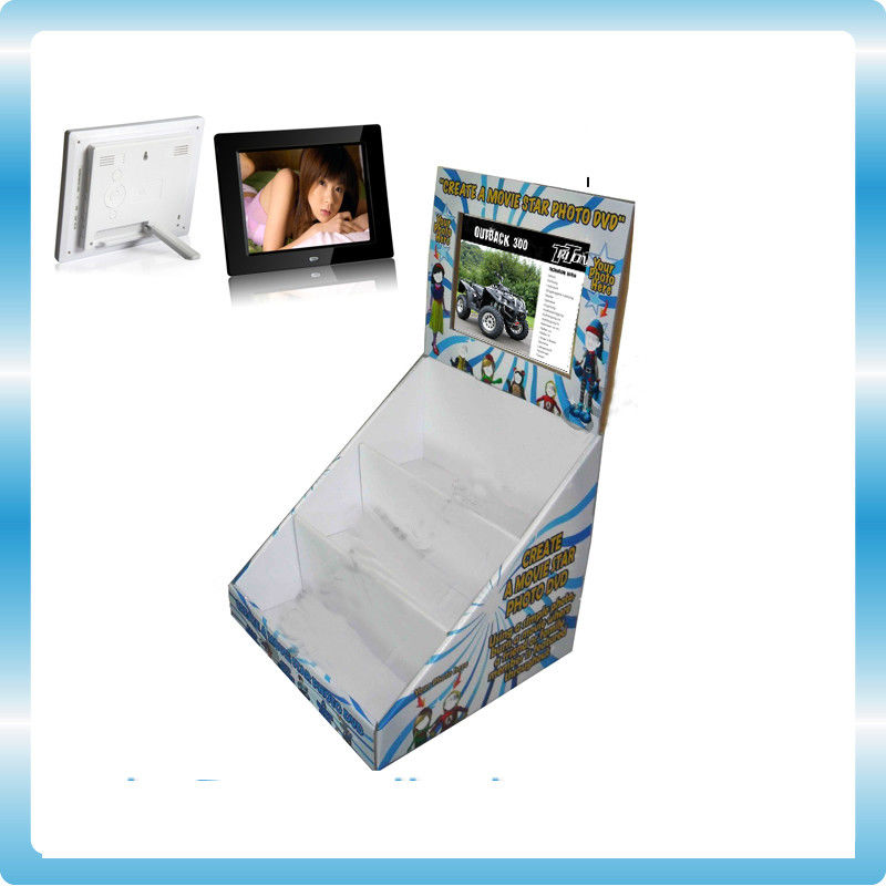 Funky TFT POP LCD Display 8 Inch Digital Photo Frame With Cardboard Display