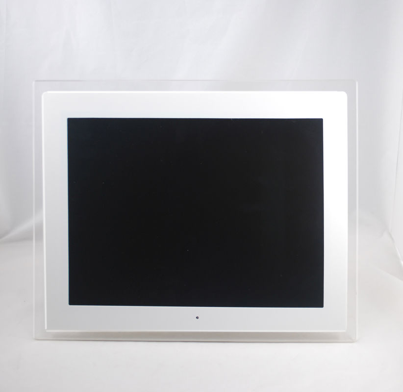 Transparent Acrylic 1080p High Resolution Digital Picture Frame 14 Inch For Home