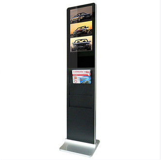 Supermarket / Restaurants HD Floor Standing Digital Signage 1680*1050 350cd/m2